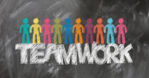 Onlineshop Konzept Teamwork