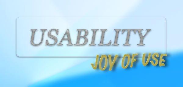 Joy of Use – mehr Erfolg durch Nutzerspaß