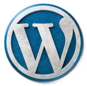 Blog Konzept Logo WordPress