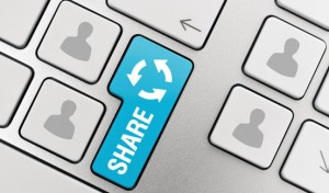 Keine umfassende Rechteeinräumung durch Verwendung des Facebook Share-/Teilen-Symbols