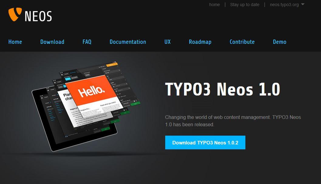 Typo3 NEOS