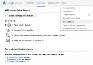 keyword-planer-menu