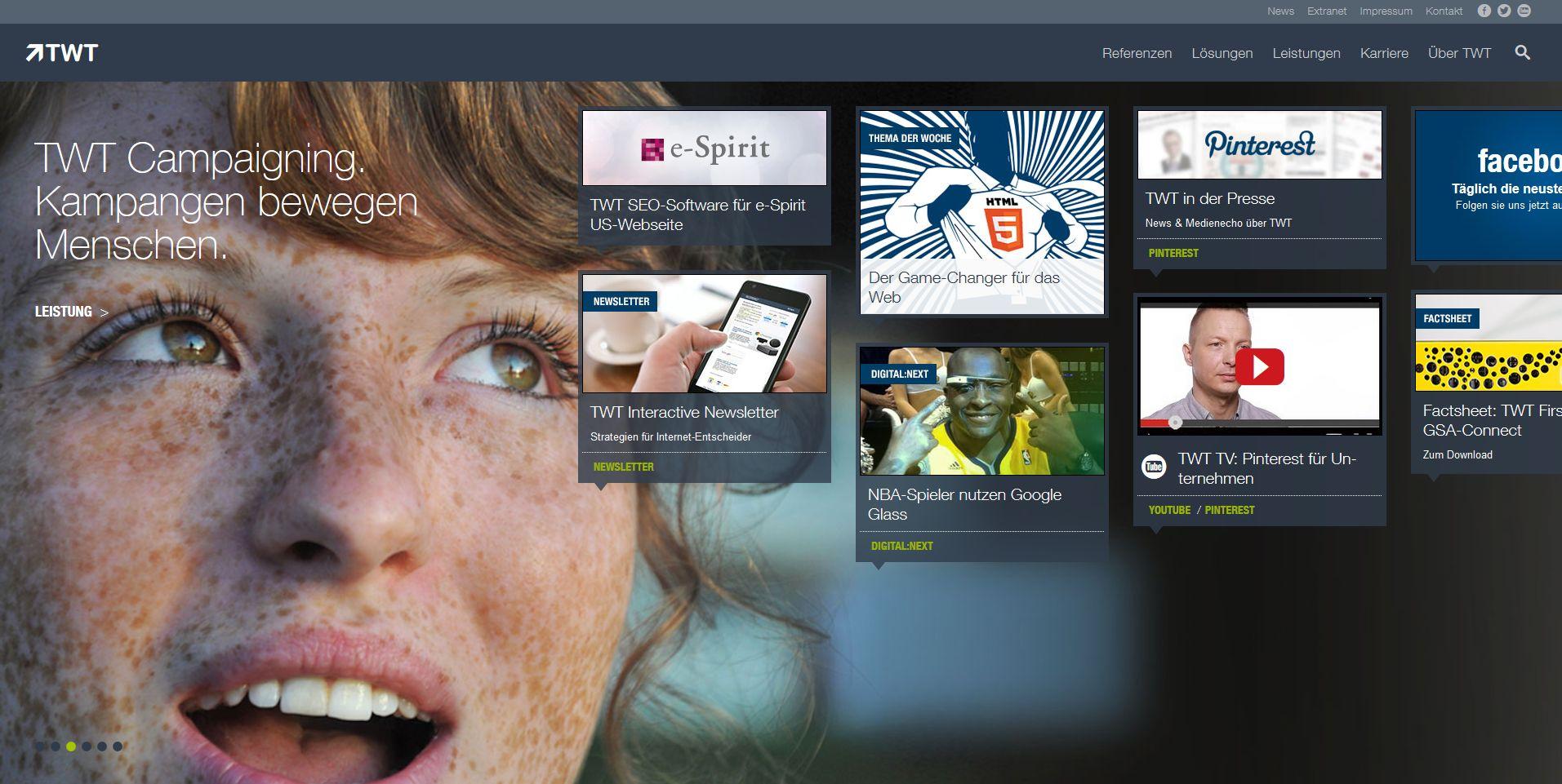 Neue Website twt.de