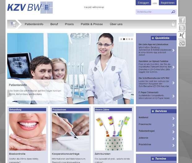 kzvbw.de-screenshot