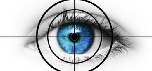 Auge im Fadenkreuz