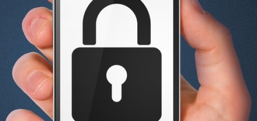 Security concept: smartphone with Closed Padlock.