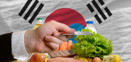 buying groceries with credit card in south korea