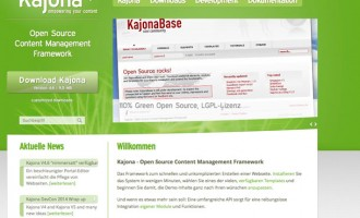 Content Management Framework Kajona in Version 4.6 erschienen