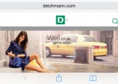 Mehr Umsatz dank neuem Mobile Shop bei Deichmann