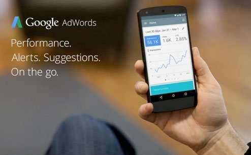 google AdWords App