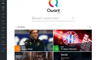 Suchmaschine Qwant startet neue Version