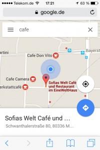 Die Anzeige von Geschäften bei Google Maps ist bestes Location Based Marketing – unaufdringlich & für Betreiber wie Nutzer sinnvoll.