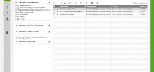 forcont_Screenshot_Arbeitgeberakte_Dokumente_Reporting