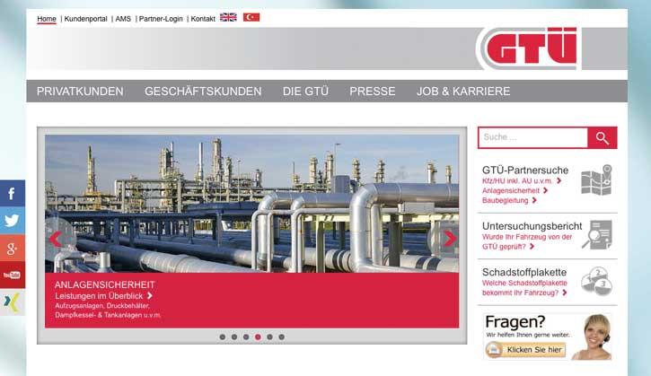 gtü.de relauncht