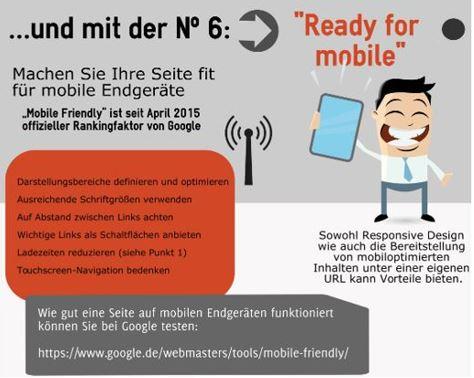 Infografik: Mobiloptimierung
