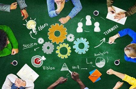 Ideas Success Vision Teamwork