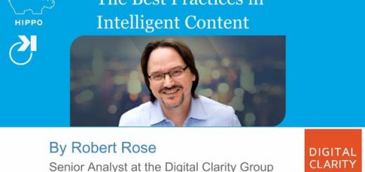 Best Practices in Intelligent Content