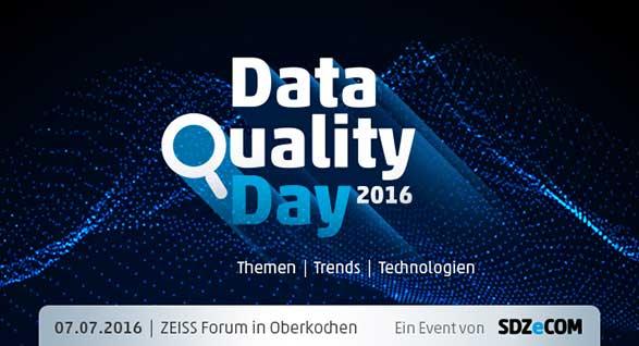 DataQualityDay 2016