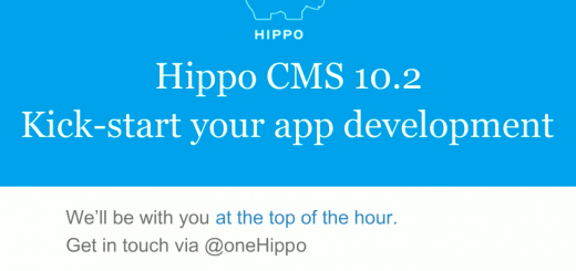 Webinar -Hippo CMS 10.2 - kick-start app development