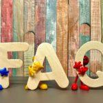 FAQ erstellen FAQ Schriftzug mit Holzmännchen