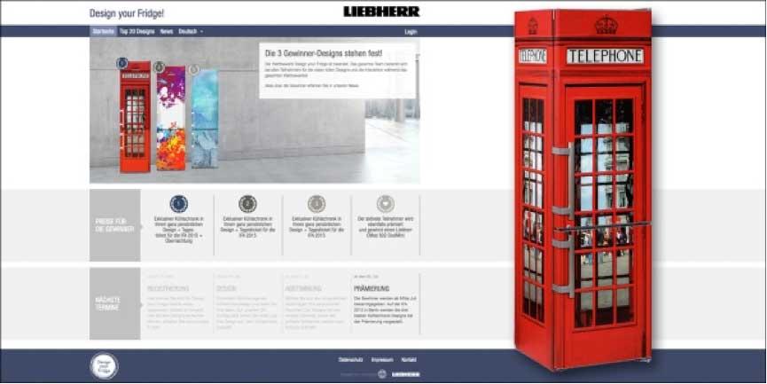 Liebherr Kühlschrank Design