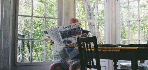 Zeitung lesen bildet