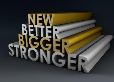 Symbolbild: Besserer, längerer und schnellerer Content als Konzept
