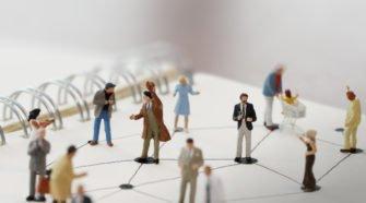 Netzwerk aus Personen