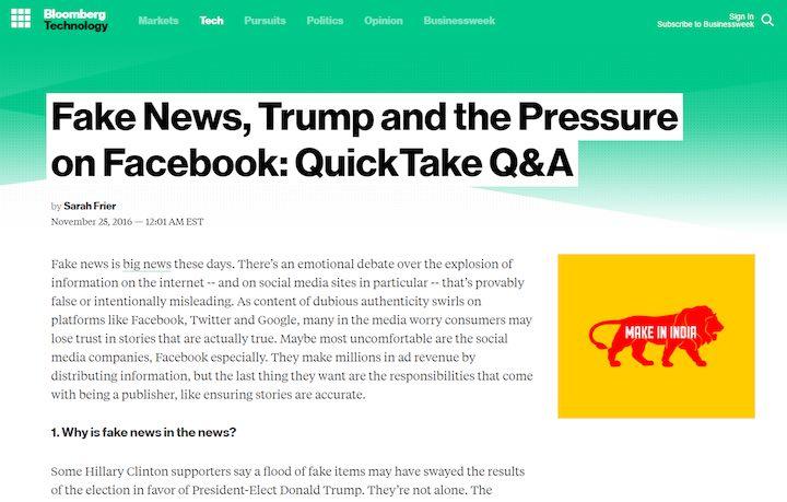 Zu allem Überfluss wurden zusätzlich politische Fake News von Trittbrettfahrern verbreitet