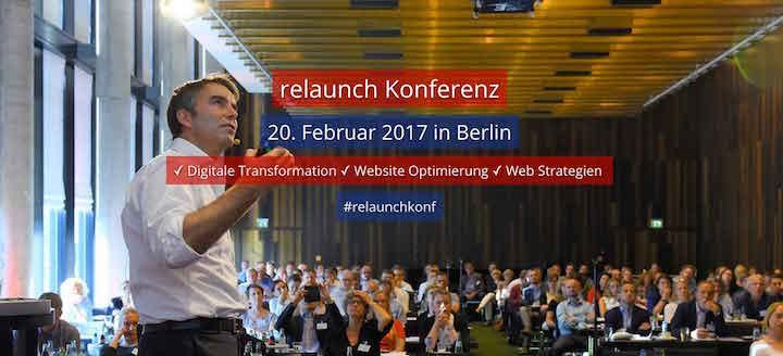 relaunch Konferenz - Strategien und Lösungen für die digitale Transformation