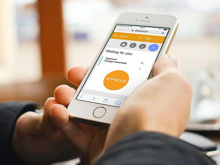 Der neue Workflowmanager ist auch via Smartphone oder Tablet bedienbar.