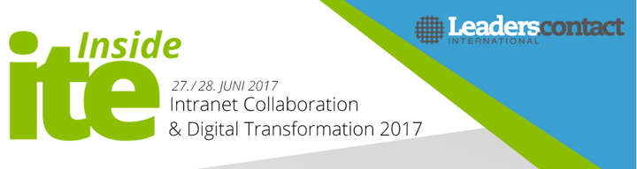 Inside Intranet Collaboration &  Digital Transformation 2017