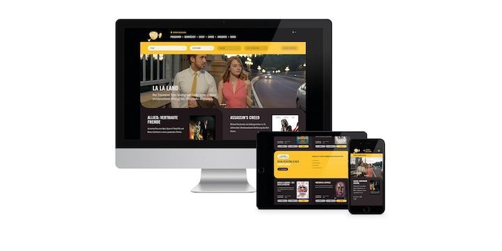 Neue Pathé-Website mit Magnolia als Kern