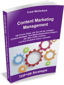 Content Marketing Prozess Cover Buch Content Marketing Management Frank Mühlenbeck