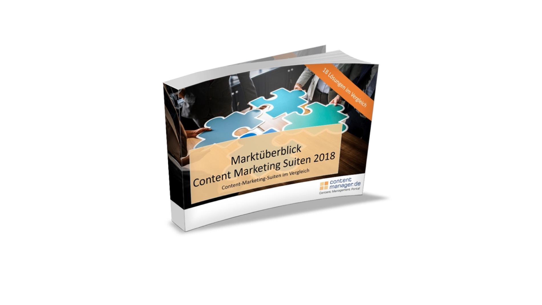 Marktüberblick Content-Marketing-Lösungen 2018