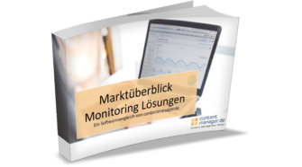 Studie in Katalogform zum Thema Social Media Monitoring