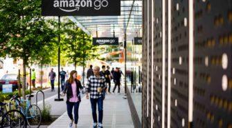 Foto des ersten Amazon Go Shop