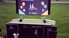 Gerald Schönbucher eröffnet den real.de E-Commerce Day 2019