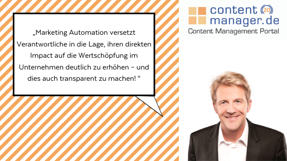 Marketing Automation Tools Zitat