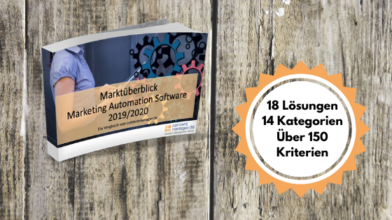 Marketing Automation Tools Vergleich Titelbild