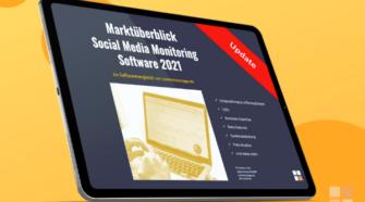 Social Media Monitoring Tools Vergleich eCover