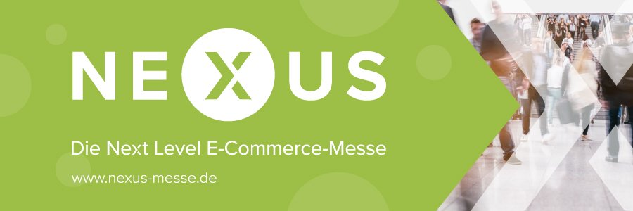 Banner zur Next Level E-Commerce-Messe NEXUS