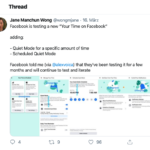 Neue Facebook-Funktion: Quiet Mode