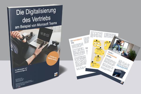 Whitepaper Digitalisierung des Vertriebs