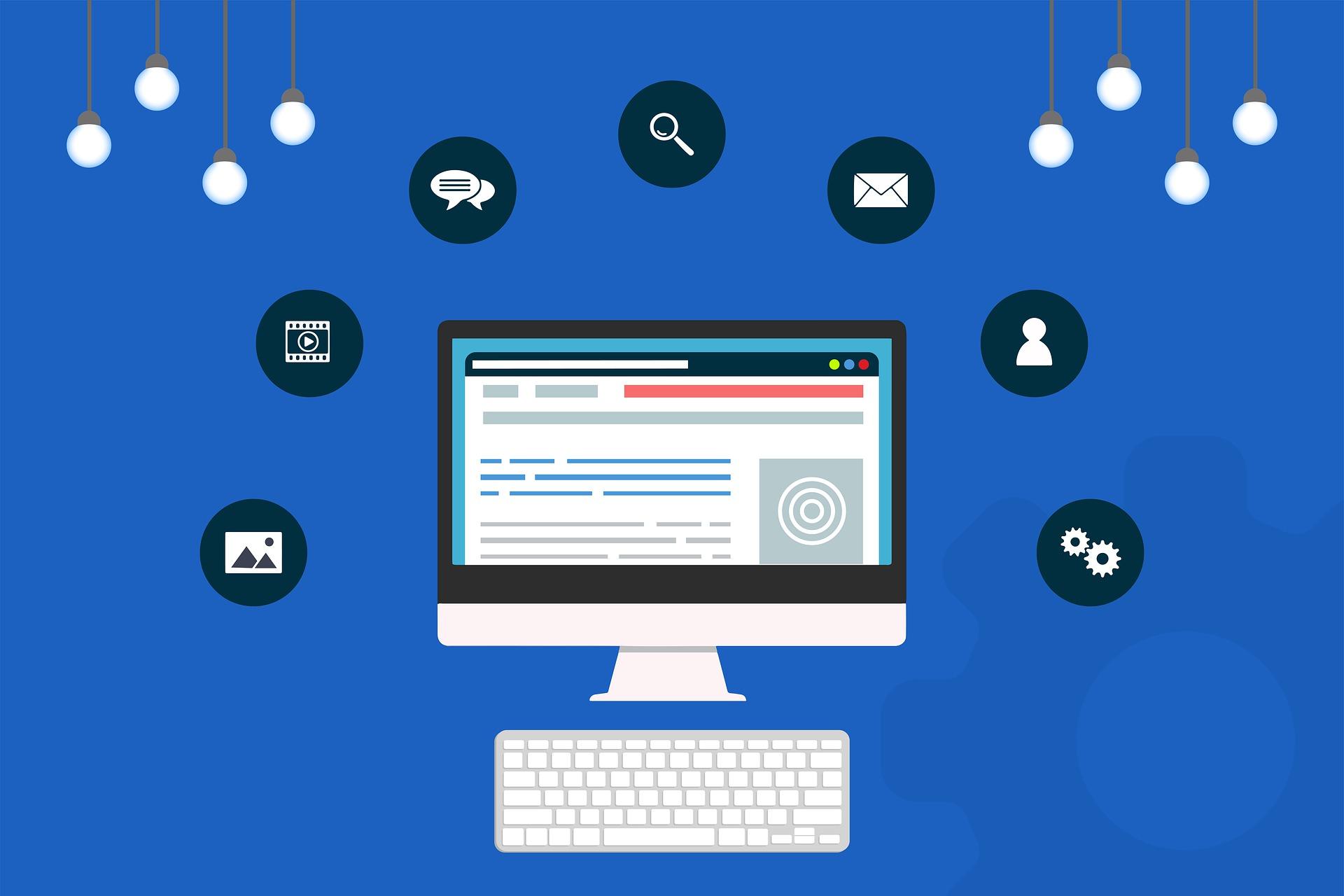 Computer Desktop Google Web-Vital-Initiative
