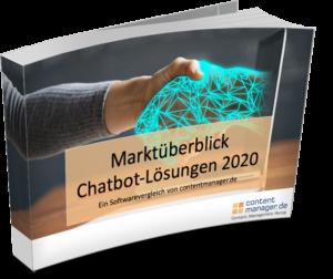 Chatbot Features Marktüberblick Chatbot Lösungen 2020 ECover