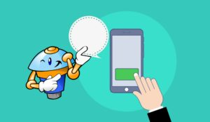 Chatbot Anbieter Grafik mit Chatbot