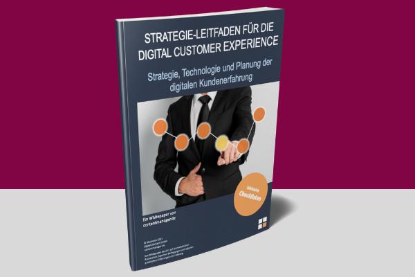 Digital Customer Experience E-Cover Whitepaper DXP