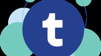 Social Media Präsenz Logo Tumblr