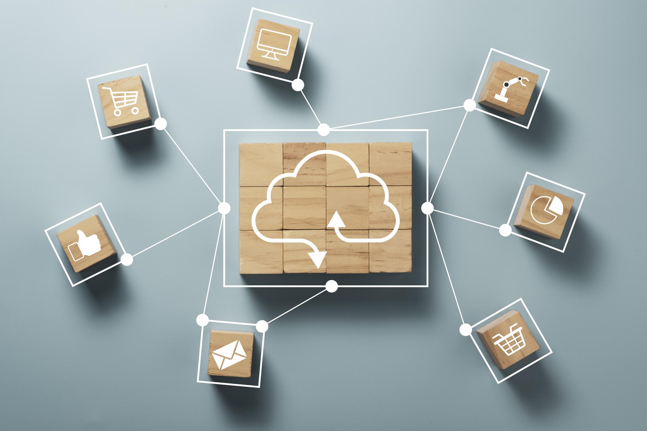 Cloud CMS Abbildung Cloud